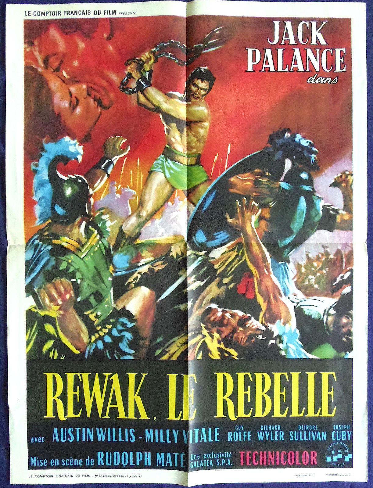 Jack Palance Filmes Good the barbarians rewak the terrible orig gladiator poster nice art