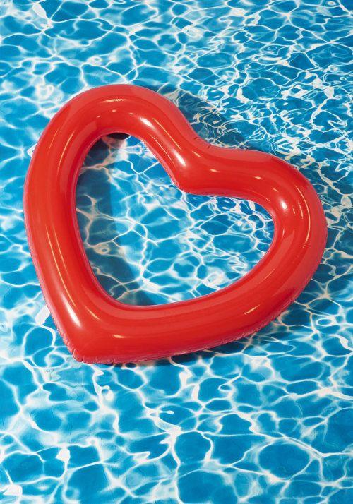 Heart Pool Float Aesthetic Kawaii Grunge Harajuku Summery Summer