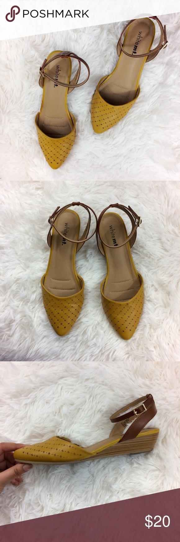 WHITEMT. mustard vintage-ish ankle