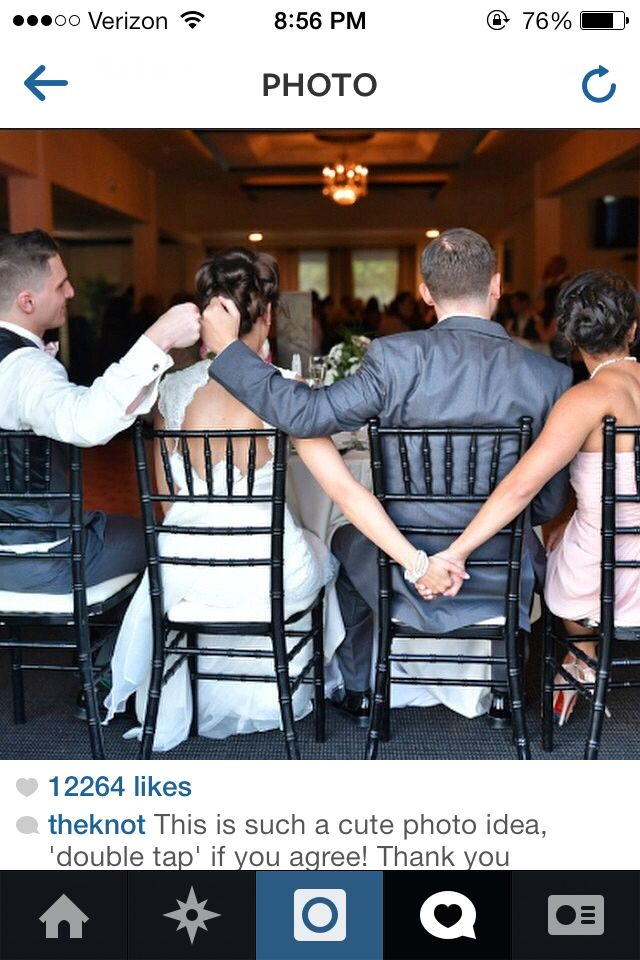 Photo Credit This Is Such A Cute Photo Idea Double Tap If You Agree  E D A Best Friends Bride Groom Best Man And Maid Of Honor