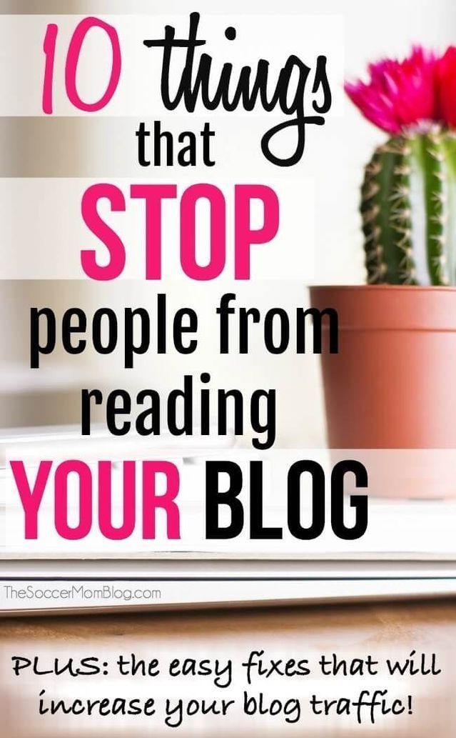 These are 10 things that stop people from visiting and reading your blog. If you are having a hard time getting people to read your blog then you need to know these great tips! These easy fixes will help increase your blog traffic. Try these great tips and tricks today! #blog #bloggers #blogging #work #tips #hacks