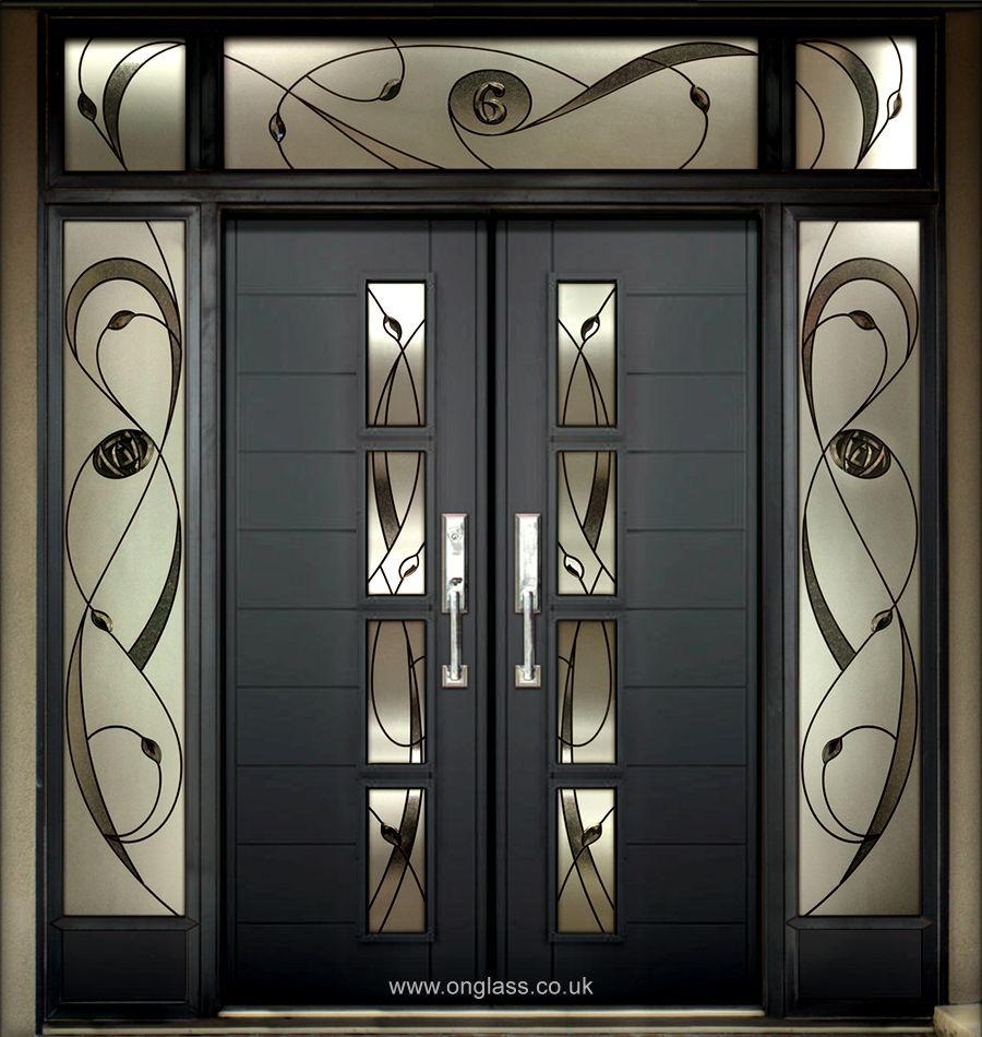 Wooden Door Design, Door Glass