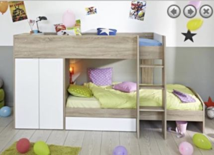 Bunk Bed Very Solid New Design Made In France Beds Gumtree Australia Hume Area Broadmeadows 1136 White Wooden Bunk Beds Modern Bunk Beds Kids Bunk Beds
