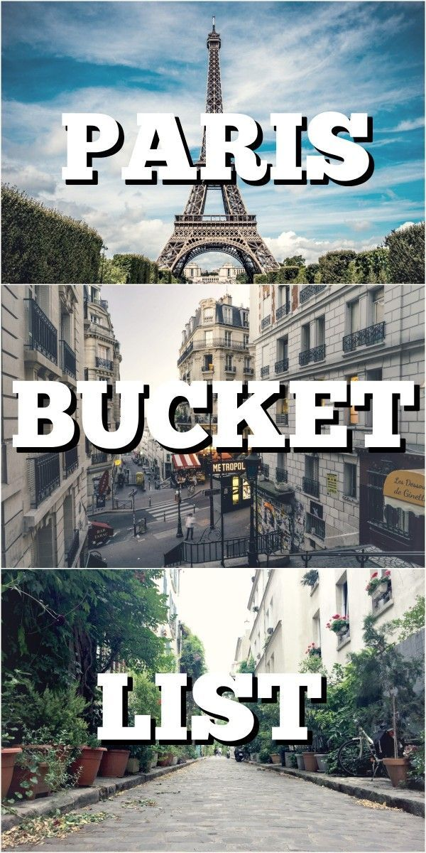 Are you overwhelmed of what to visit in Paris?  Is there just too much to choose from? We asked around and got awesome advise from people who know it best: Travel Bloggers that have been to Paris! What was their favourite activity in Paris? What are they recommending everyone should do when in Paris? Check out our Paris bucket list and be ready to visit Paris - top things to do in Paris! via @4onaworldtrip