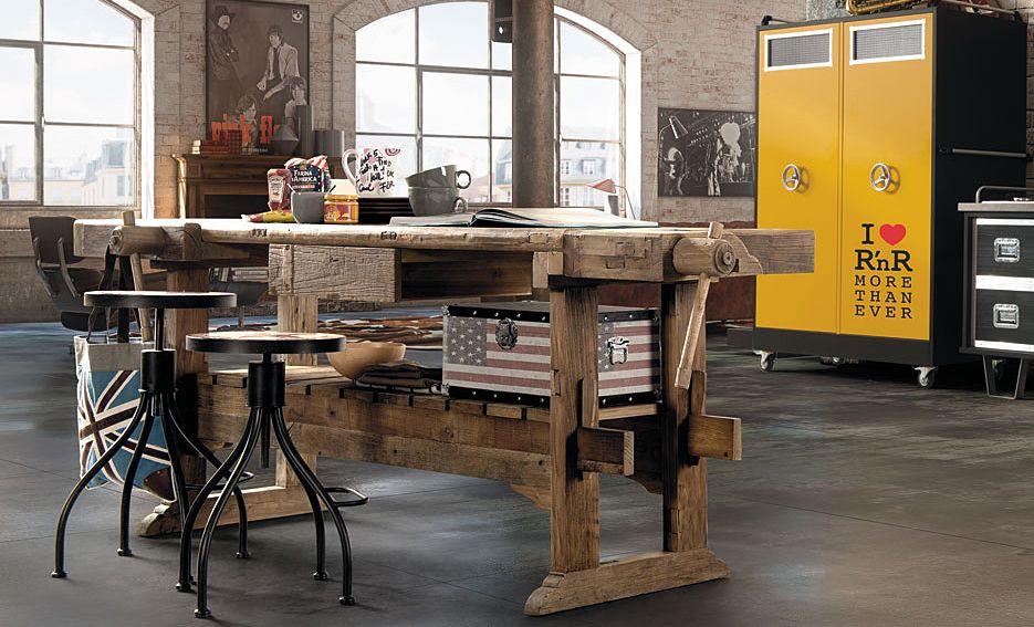 Consola banco de carpintero   Carpinteria   Pinterest   Banco de ...