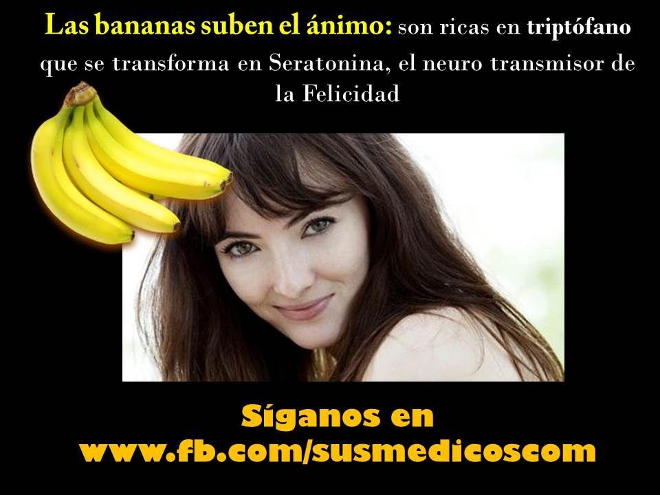 el banano como alimento feliz #compartesalud #susmedicos #bogota #salud