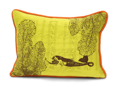 Laura Goldstein's Silk Down Cushions: Twice As Nice As Most Pillows