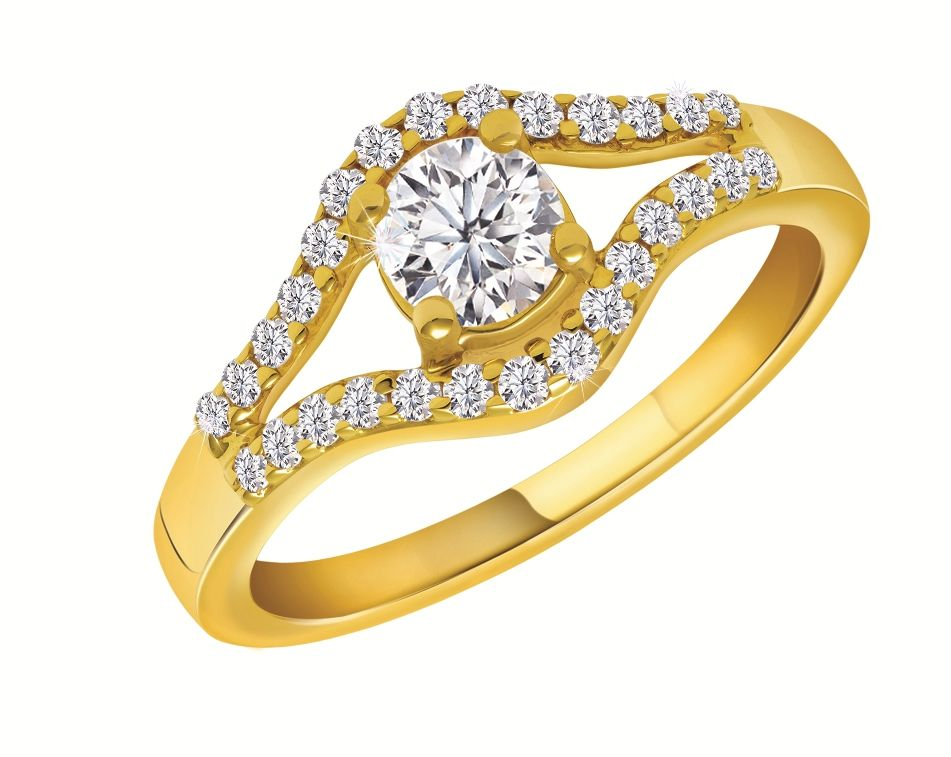 Beautifully Crafted Large Round Diamond Cathedral Graduated pave ...