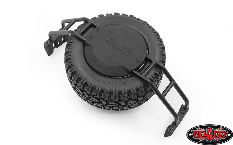 VVVC0890Spare Wheel and Tire Holder for Traxxas TRX4