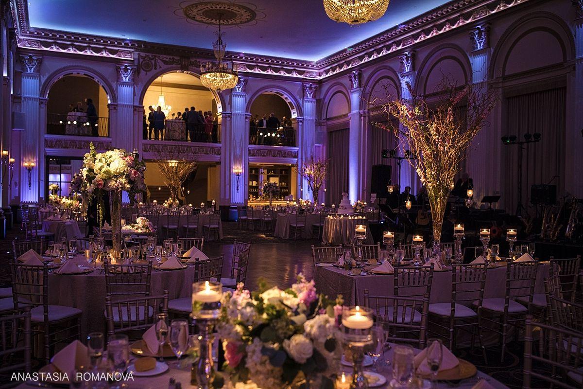 Ballroom At The Ben Wedding Philadelphia Amanda And Ryan Philadelphia Wedding Reception Philadelphia Wedding Venues Wedding Reception Hall