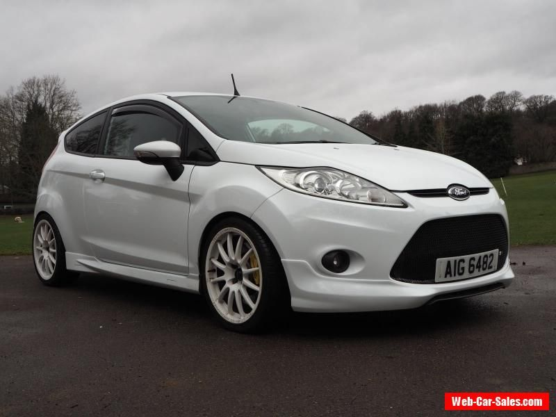 Ford Fiesta Zetec S 2009 Frozen White Mountune Modified Ford