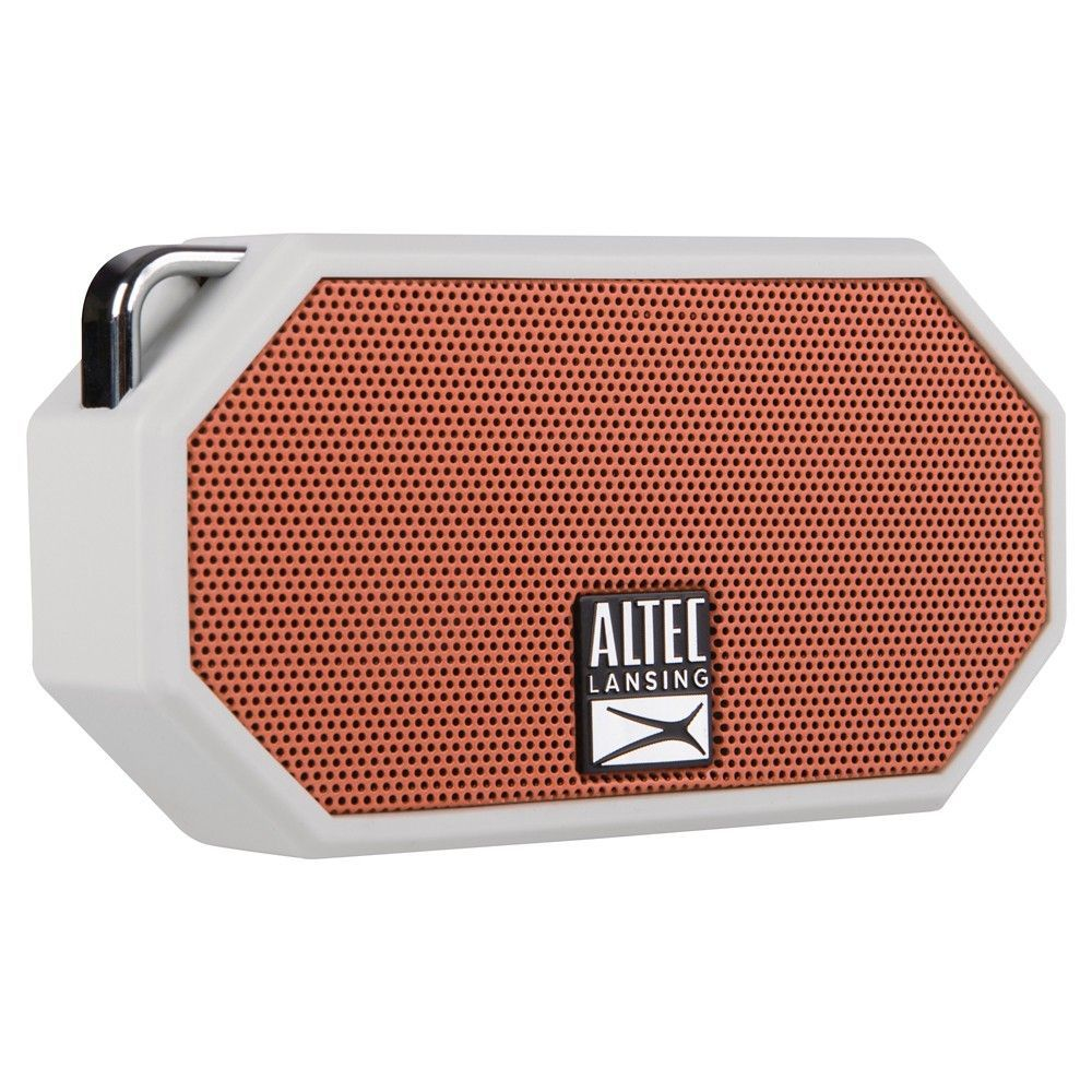 Altec Mini H2o Bluetooth Waterproof Speaker Gray Waterproof