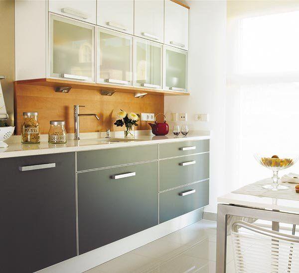 Los mejores materiales para encimeras y frentes de cocina - Materiales para muebles de cocina ...
