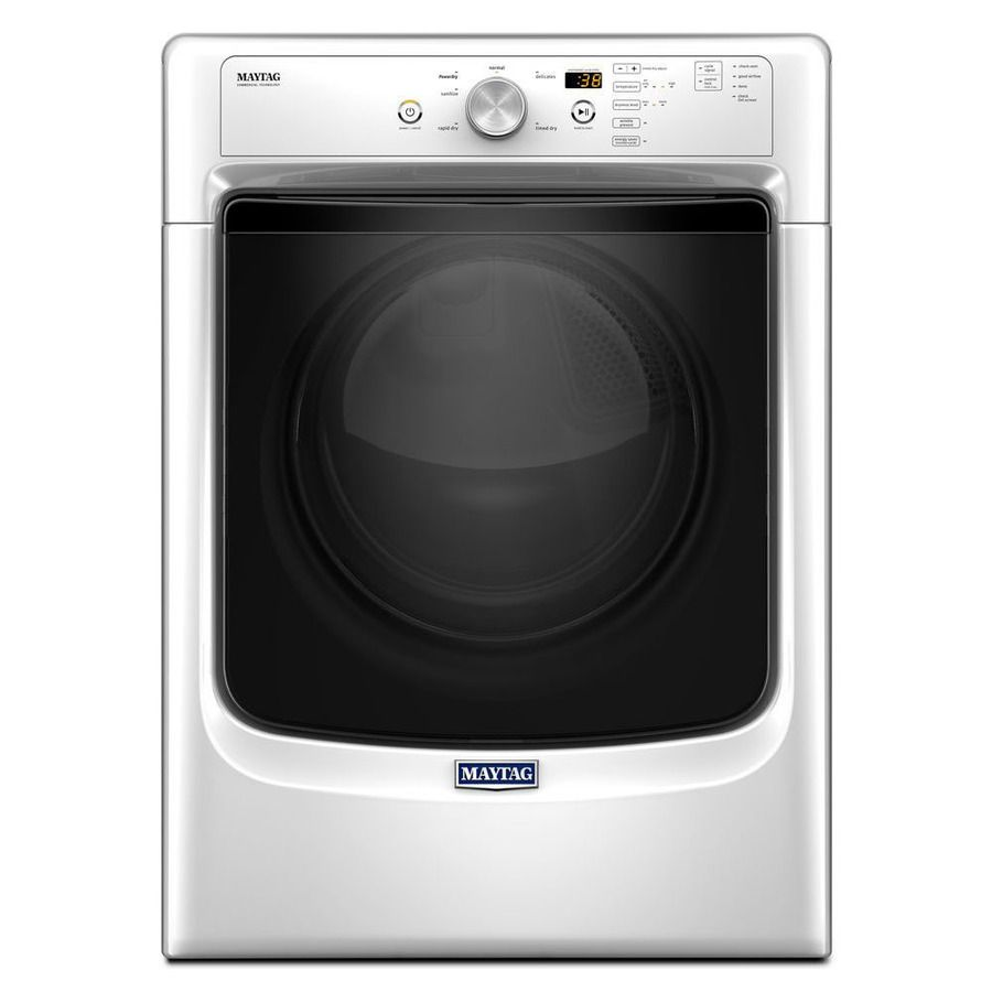 Lowes whirlpool white ice collection - Shop Maytag 7 4 Cu Ft Stackable Electric Dryer White Energy Star At Lowes