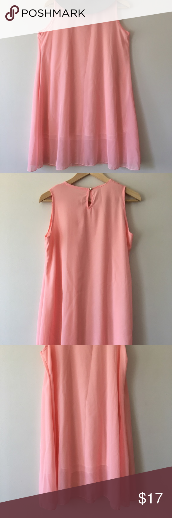 No Label Simple Mine Pink Dress Size M Dresses Pink Dress Clothes For Women