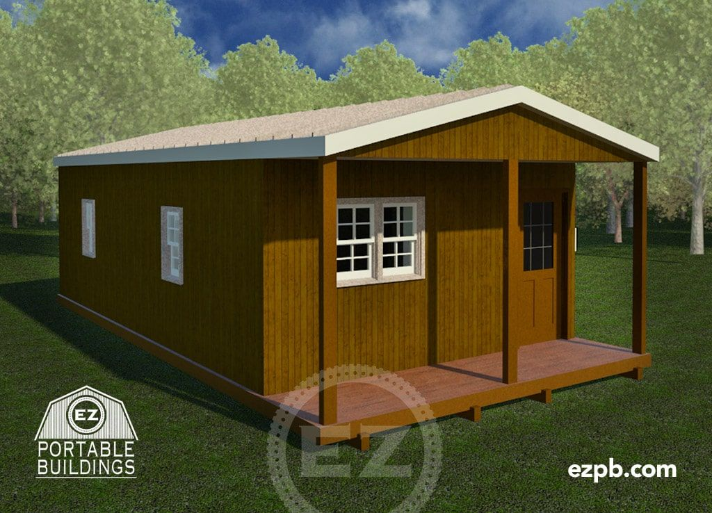 Design your own storage building, shed, barn, cabin, or tiny house