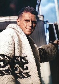 steve mcqueen sweater celebrity designer guy 39 s men 39 s. Black Bedroom Furniture Sets. Home Design Ideas