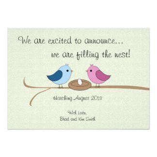 Pregnancy Announcement Cards Pregnancy Announcement Card Templates