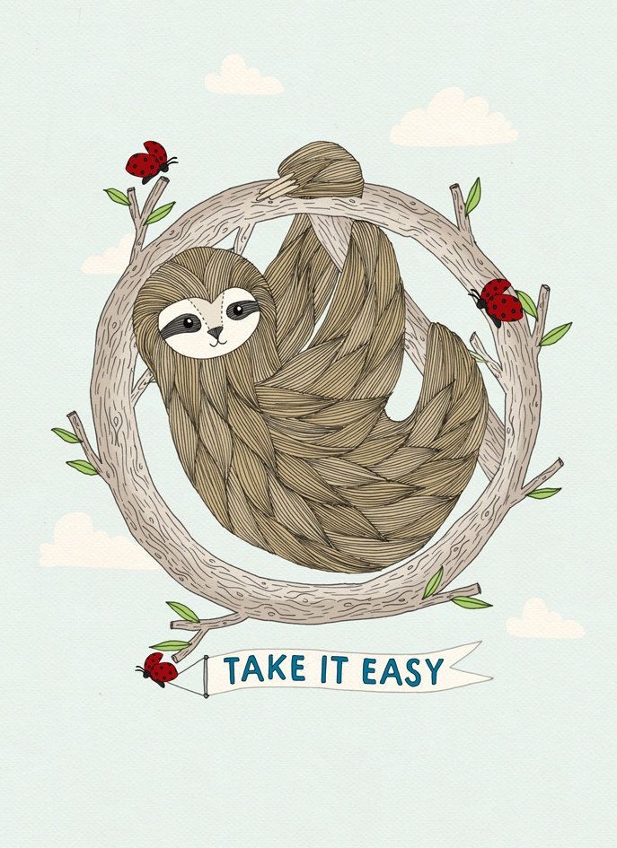 sloth art - Google Search | tattoos | Pinterest | Sloth ...
