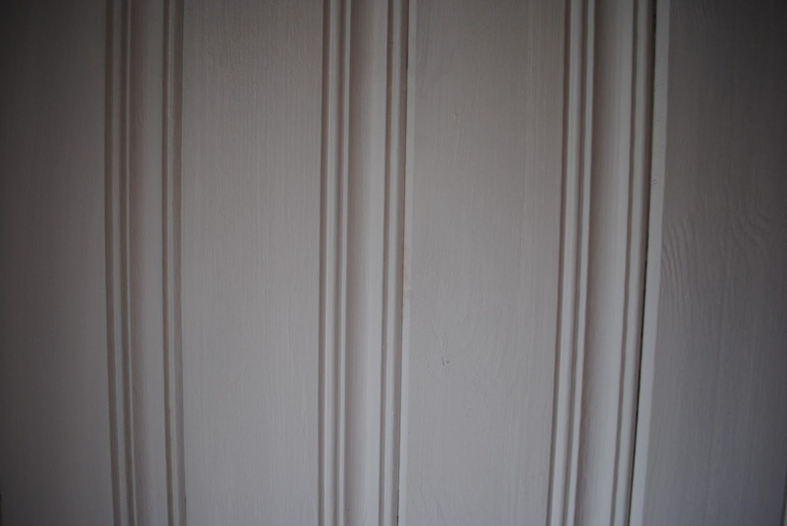 Painted Pine Paneling In Bathrooms Warm Grey Slightly