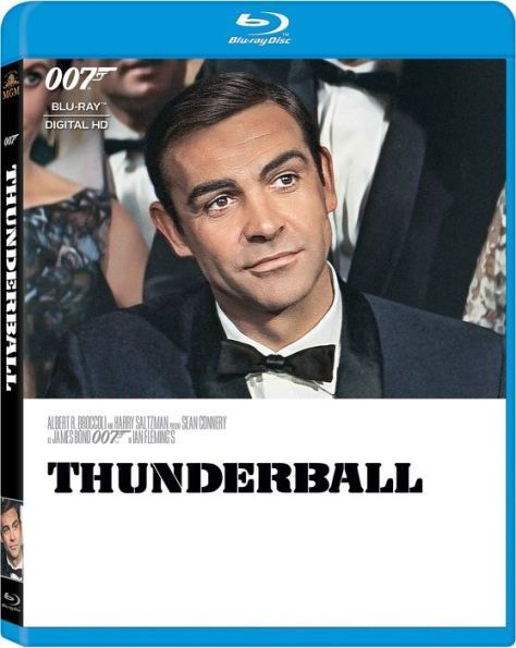 Thunderball Sean Connery James Bond Sean Connery Blu Ray