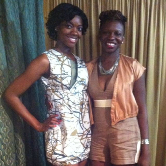 Both outfits are Jahji Designs-Fashion Night Out Sep 2012!