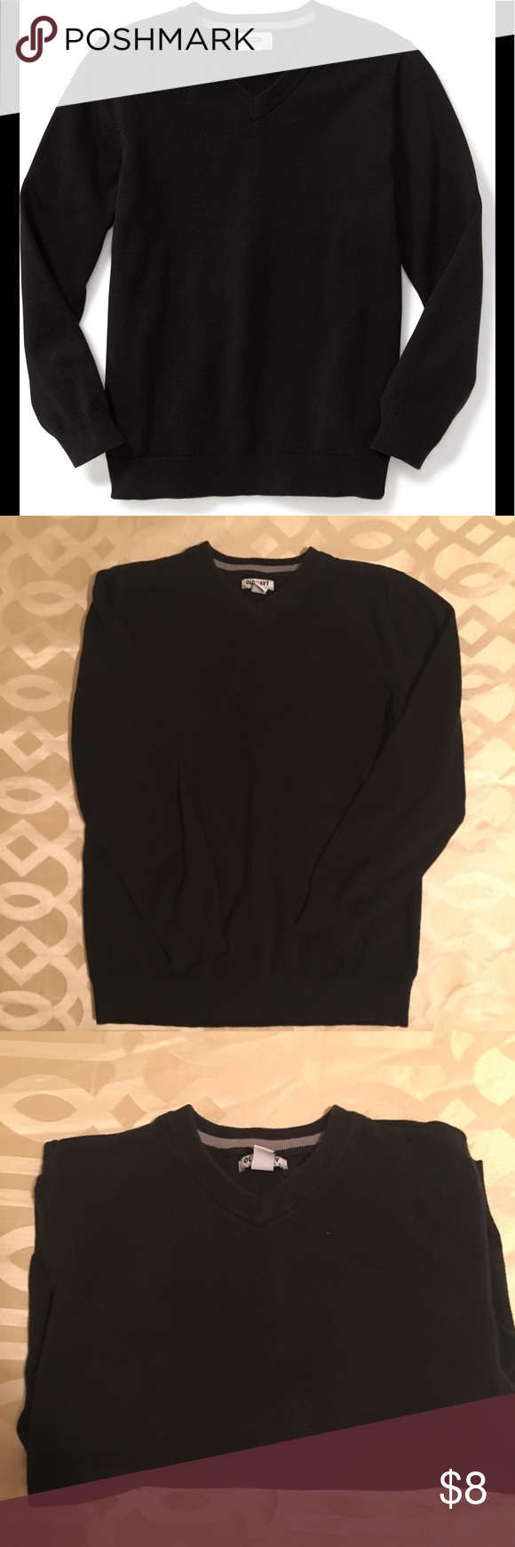 Boys Old Navy Black V-neck Sweater | Navy, Boys and Customer support