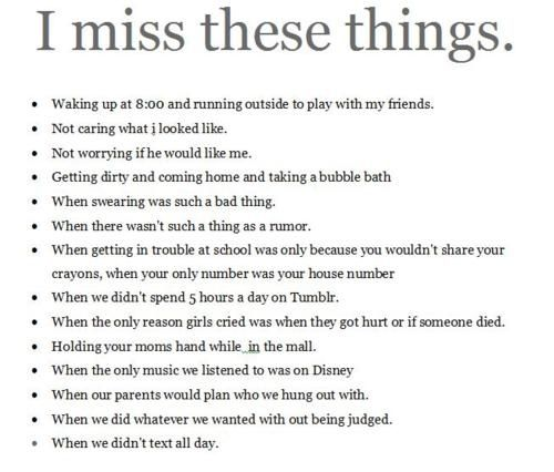 Missing Childhood Memories Quotes: Kids, Love, Miss, Quote, Quotes, Sad #EasyNip