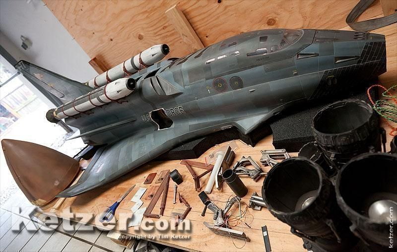 X-71 Space Shuttle Freedom model from Armageddon | Freedom ...