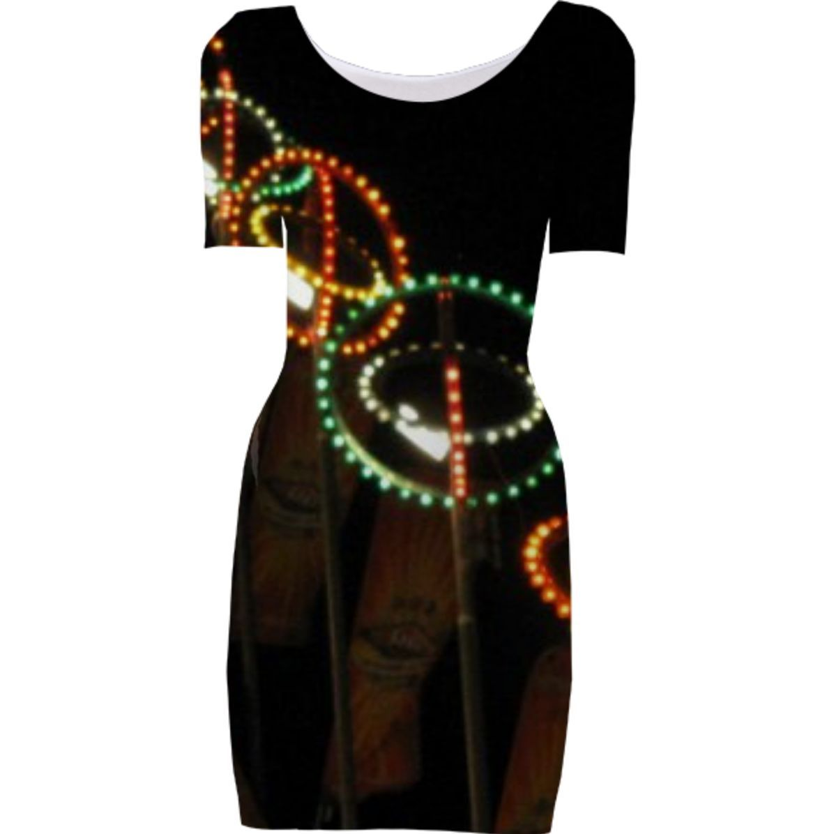 Carnival Lights Dress from Print All Over Me