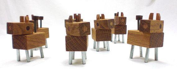 Wood Dog Robot - Dog Bot is Robot's Best Friend