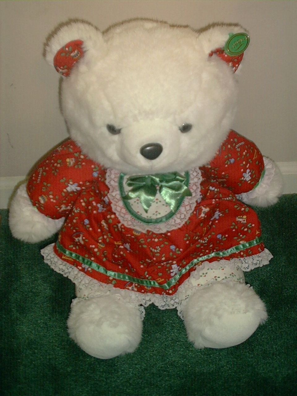 1991 Kmart Holiday Collectible Teddy Bear Hello kitty plush