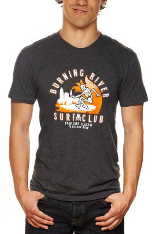 Burning River Surf Club - Unisex Crew – CLE Clothing Co.  bc5884a9f