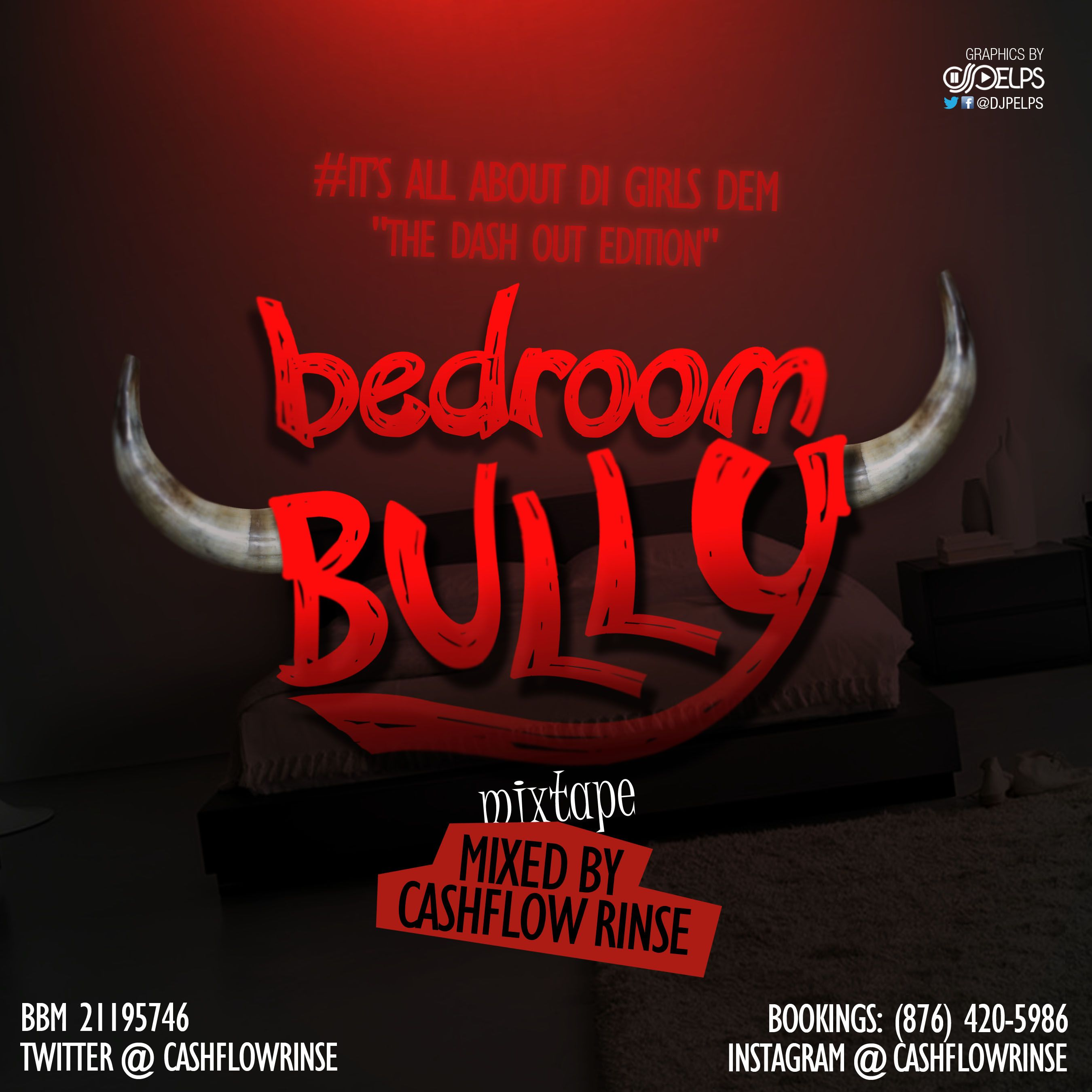 Bedroom Bully Mixtape Cover Client Cashflow Rinse Album Covers