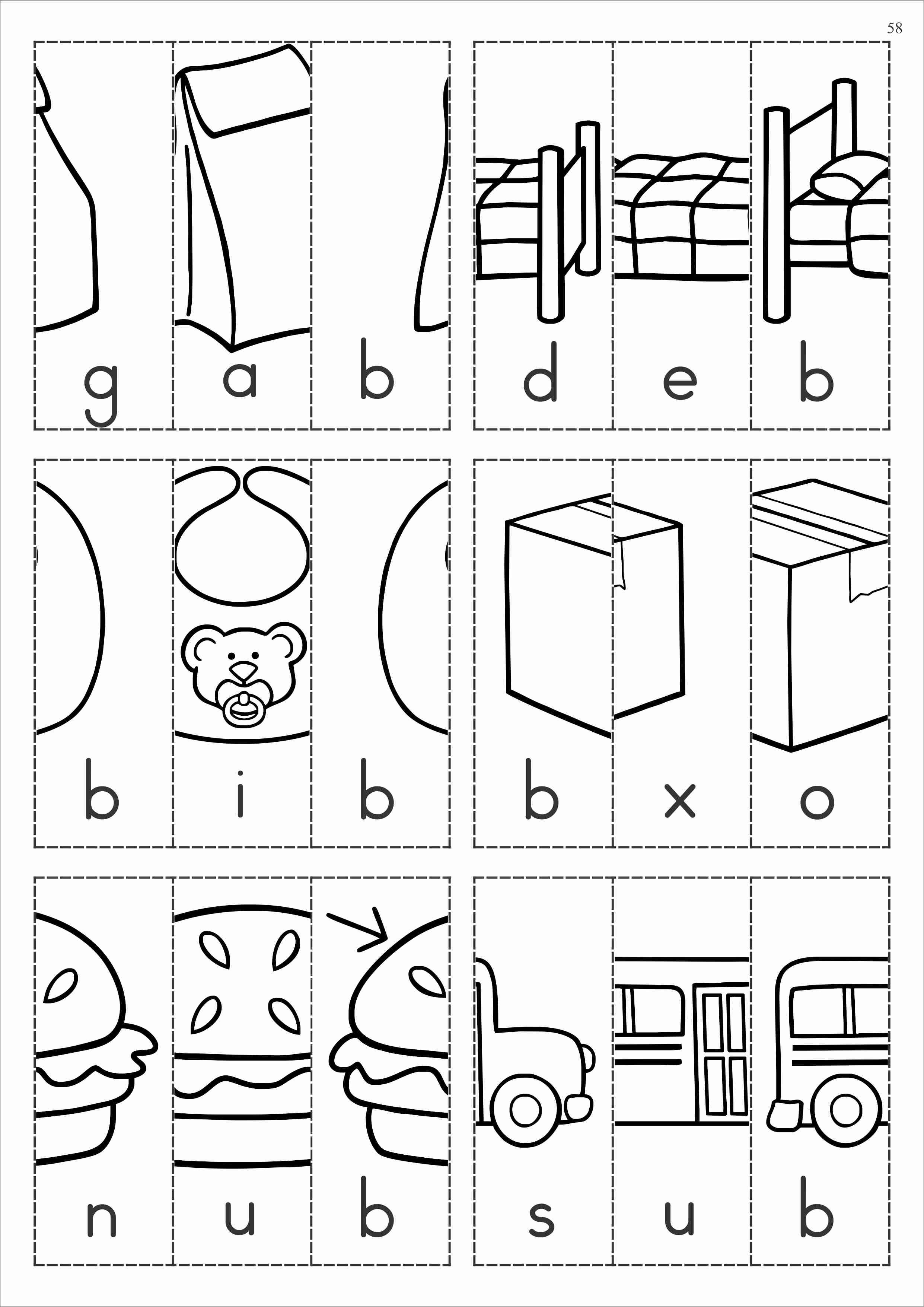 worksheet Cut And Paste Beginning Sounds Worksheets alphabet phonics letter of the week b curriculum and bb b
