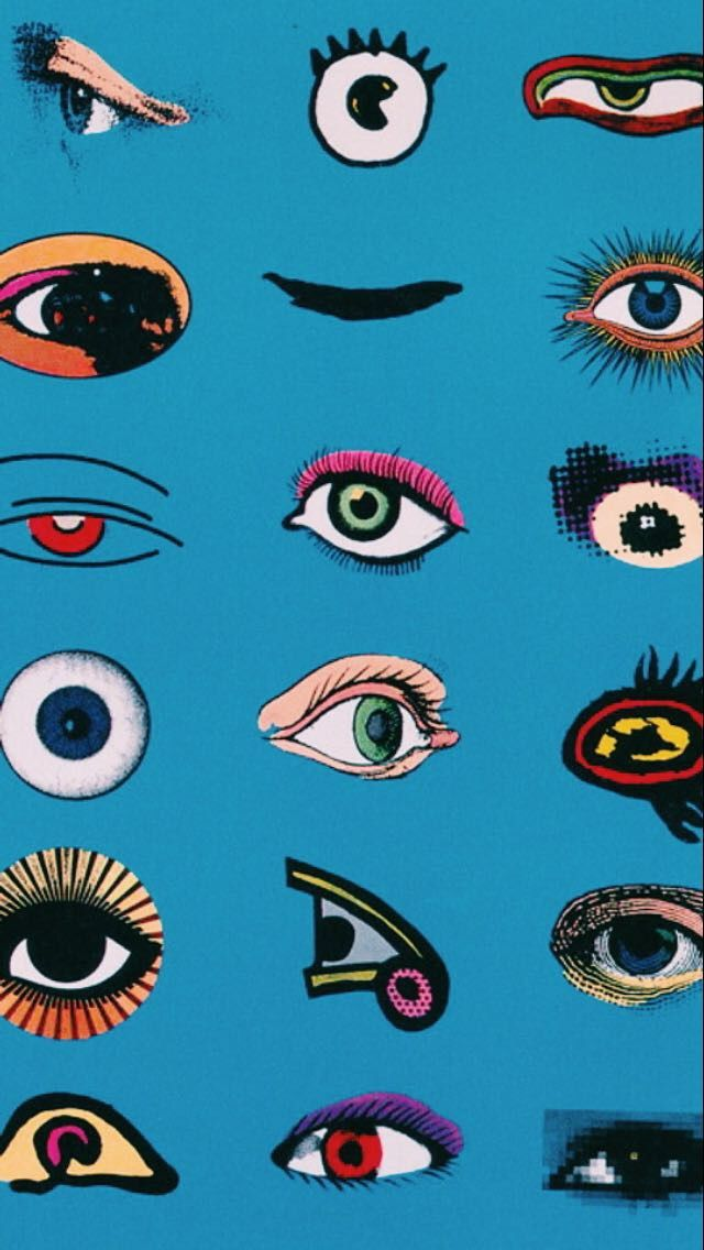 Keep N Eye Out Art Wallpaper Aesthetic Iphone Wallpaper Abstract