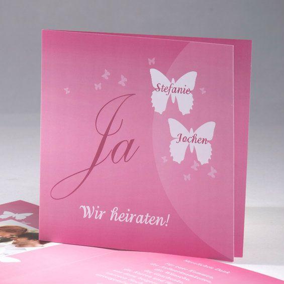 Leuchtendes Rosa Hochzeit Einladungskarten Drucken OPB225 Bright Pink  Sommerhochzeit Ideen Im Jahr 2015