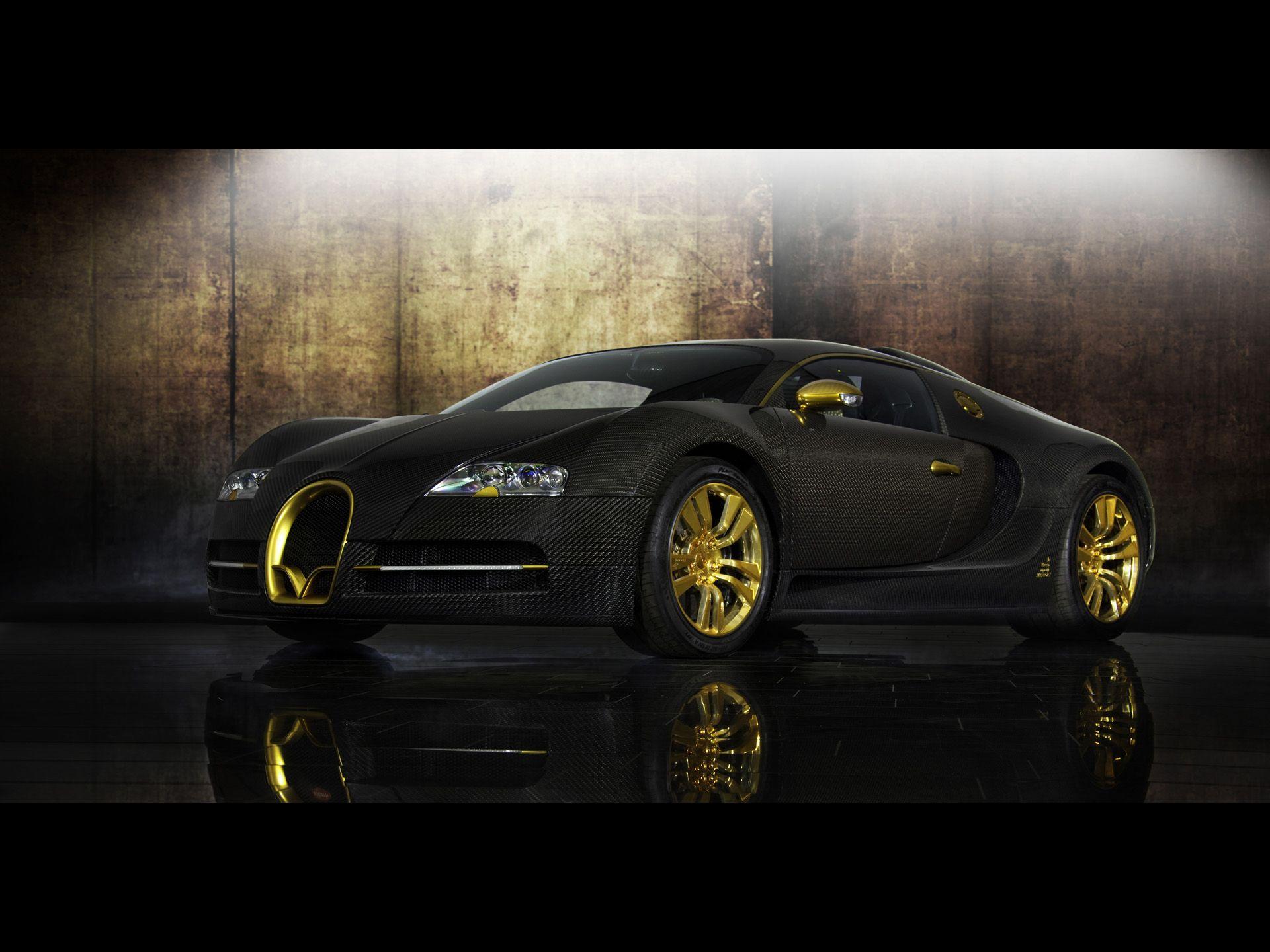 2010 Mansory Bugatti Veyron Linea Vincero d Oro