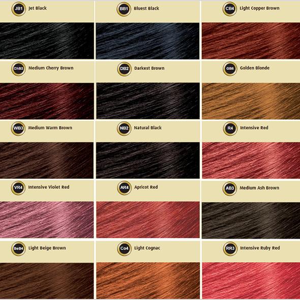 Bigen semi permanent hair color products