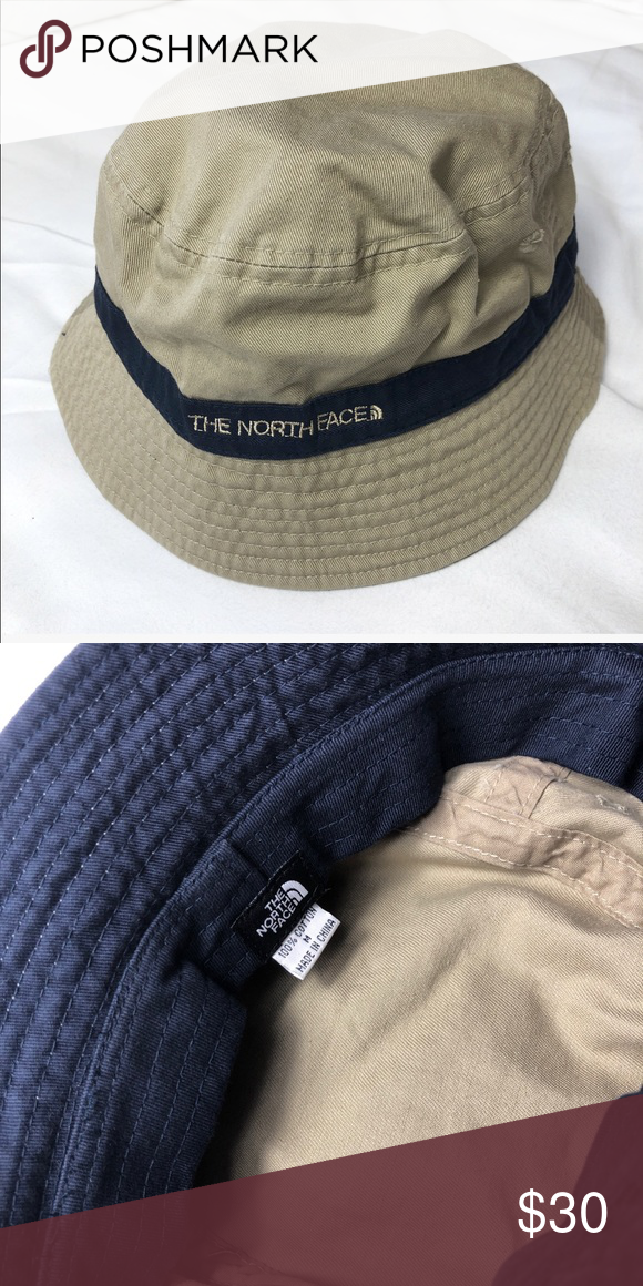 02c0488e6 North Face Bucket Hat Authentic North Face Bucket Hat The North Face ...