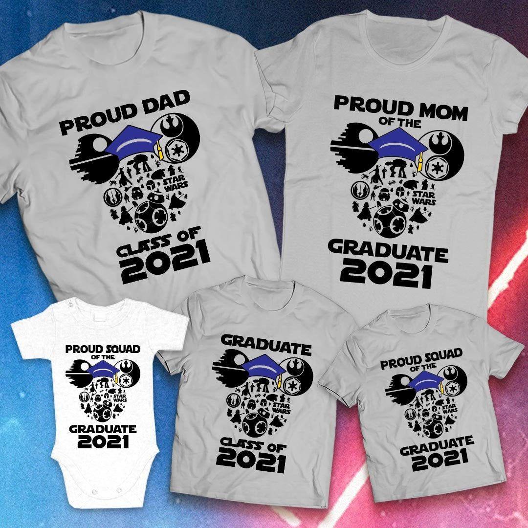 Class of 2021 disney graduation family shirts disney class