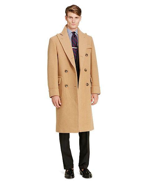 59c74da00 Polo Camel Hair–Twill Topcoat - Polo Ralph Lauren Pea Coats   Top Coats -  RalphLauren.com