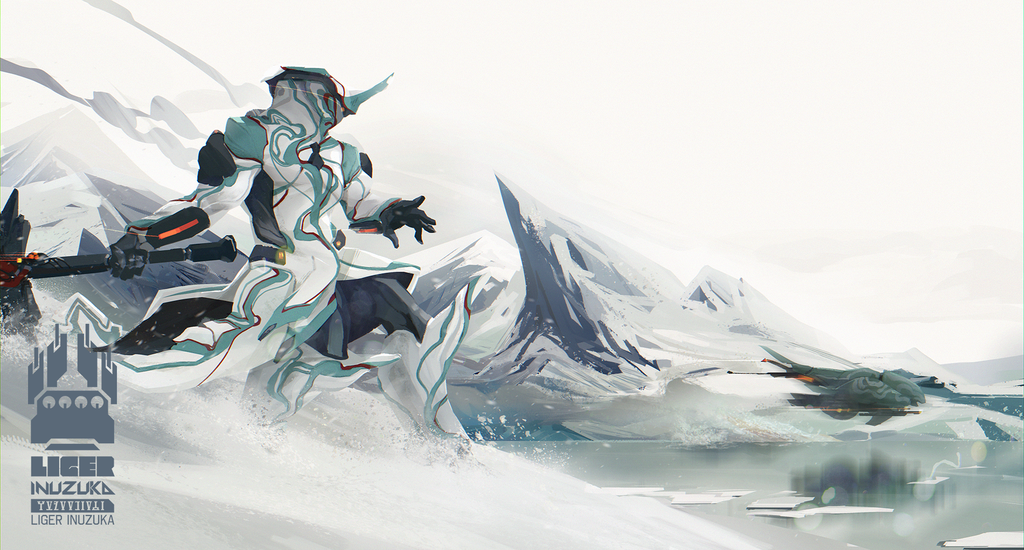 Warframe: Interloper in Frost's Territory by Liger-Inuzuka.deviantart.com on @DeviantArt
