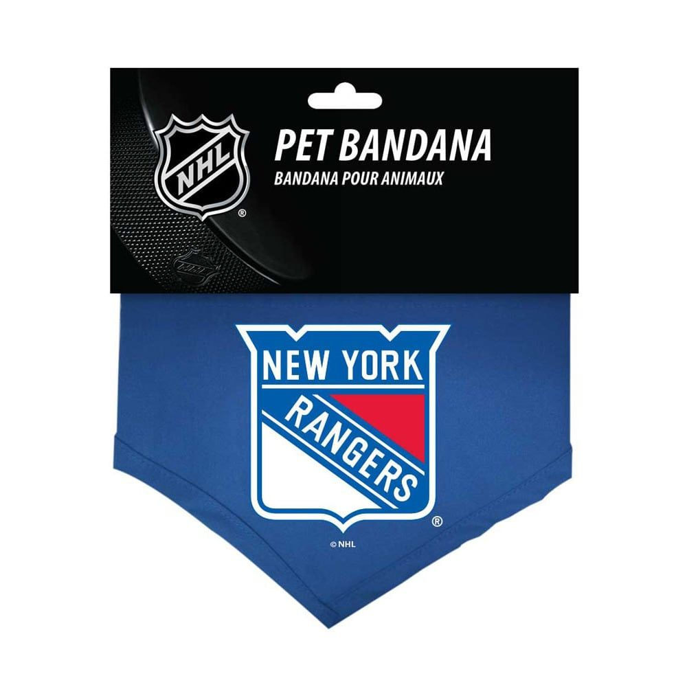 6c8cde545f2 Hunter New York Rangers Dog Bandana- Cotton - | Products
