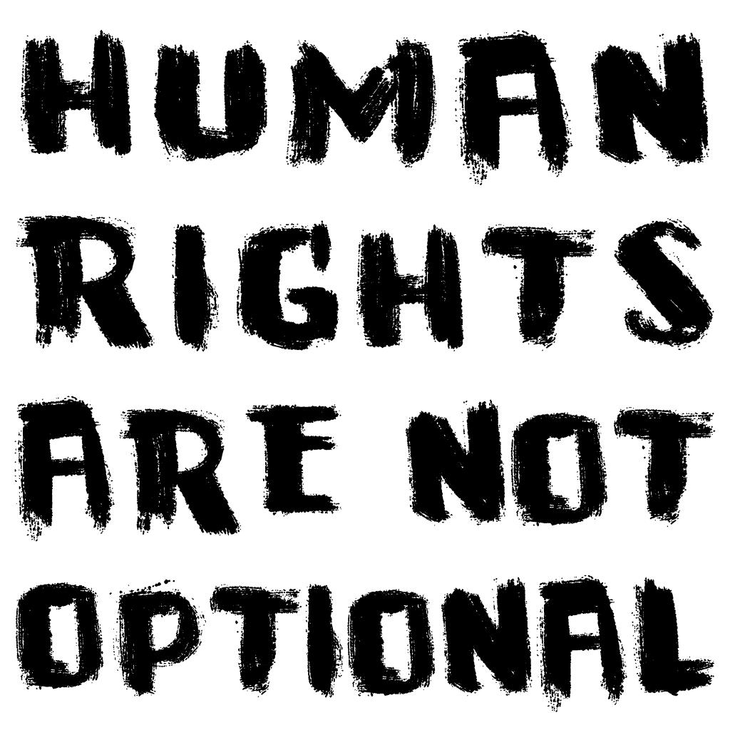 Human Rights Are Not Optional Fair Trade Community Shop Human Rights Human Tshirt Gifts
