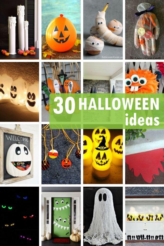 Halloween Ideas Roundup 30 Ideas For Halloween Decor Parties