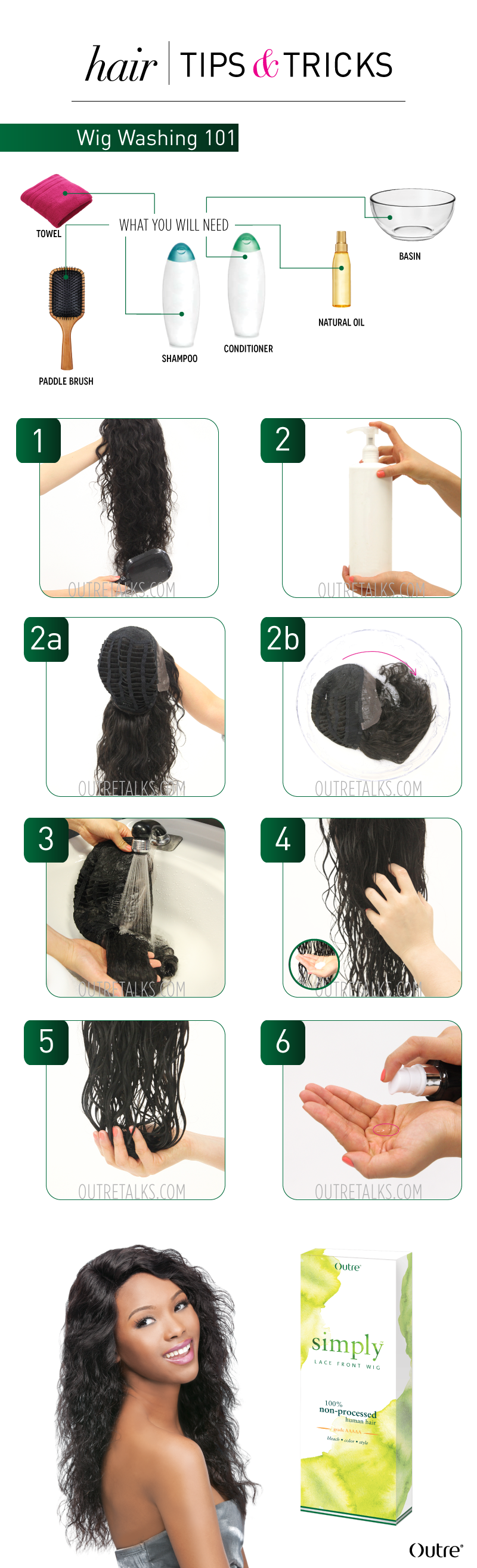 Wigs 101 How To Wash A Human Hair Wig Diy Wigs U Part Wigs