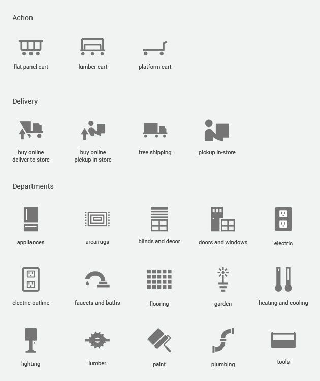 Material Design Icons Home Depot Jpg 630 750 With Images