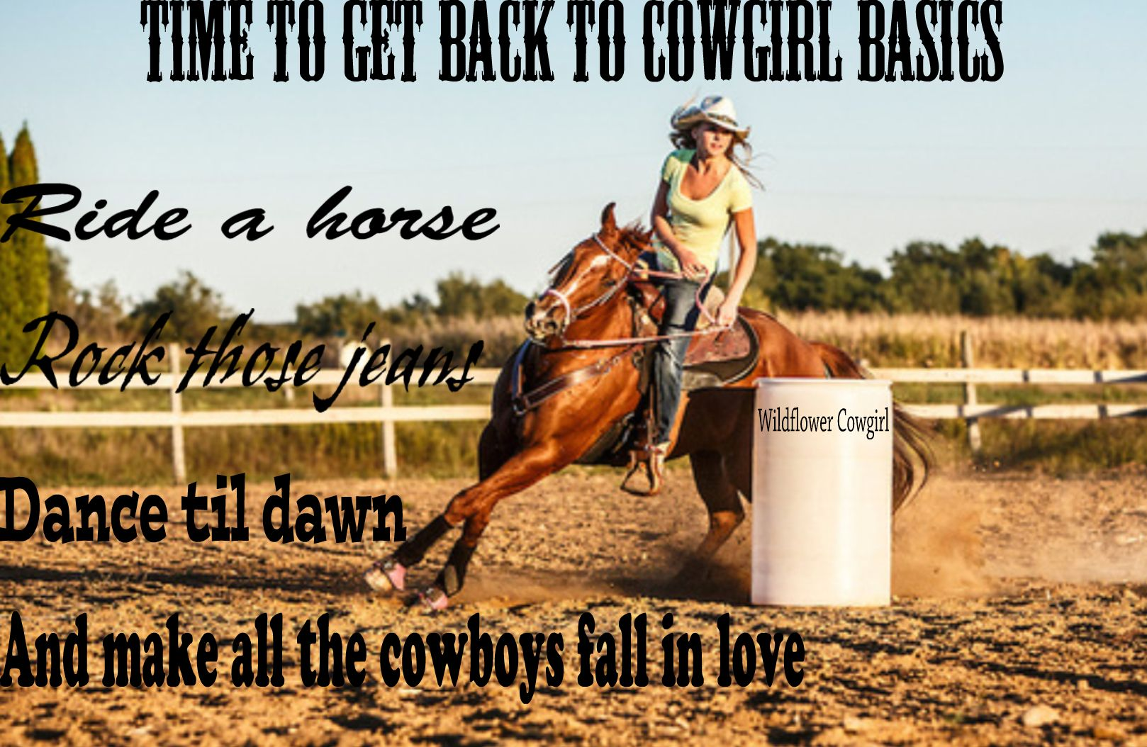 Cowgirl up. Western quote. Cowgirl life. Turn and burn