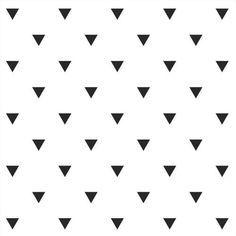 Black Triangle Pattern